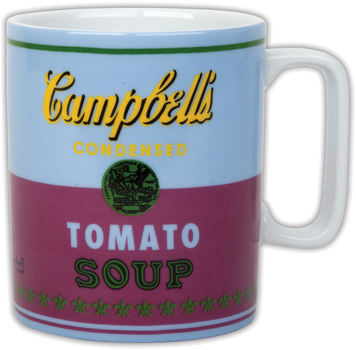 ANDY WARHOL CAMPBELLS SOUP COFFEE MUG Collectibles on DeepDiscount