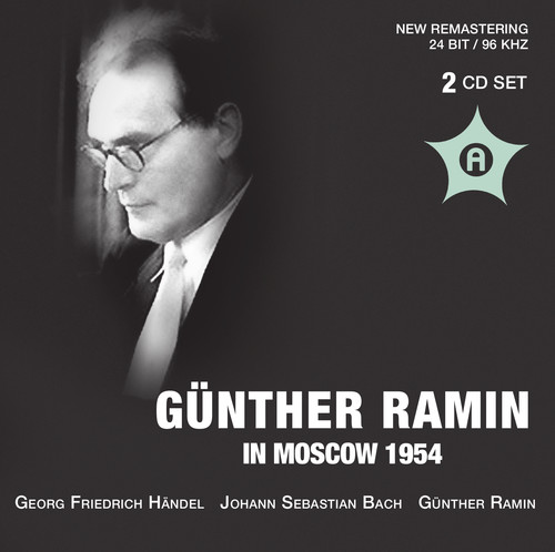 Gunther Ramin in Moskau 1954