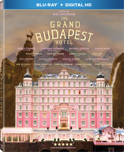 Grand Budapest Hotel [UltraViolet] [Blu-ray]