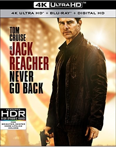 JACK REACHER: NEVER GO BACK [4K ULTRA HD BLU-RAY/BLU-RAY]