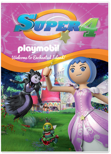 Super 4: Welcome to Enchanted Island!
