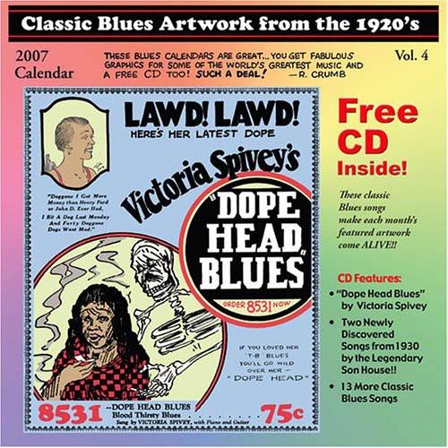 Classic Blues Artwork 1920's Calendar 2007 /  Various