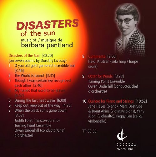 Disasters of the Sun