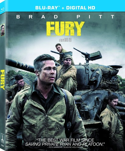 Fury [UltraViolet] [Blu-ray]