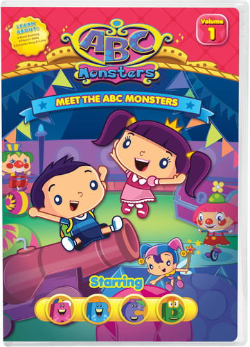 ABC Monsters Starring ABCD