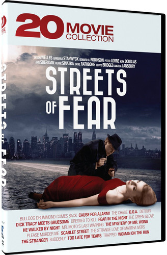 Streets of Fear: 20 Movie Collection