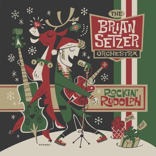 Brian Setzer-Rockin Rudolph