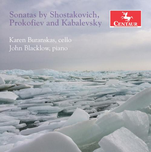 Sonatas By Shostakovich Prokofiev & Kabalevsky