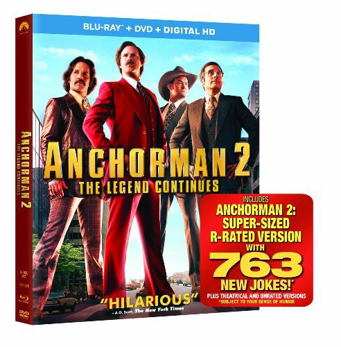 Anchorman 2: The Legend Continues [2 Discs] [Blu-ray/DVD]