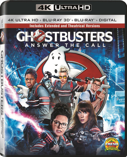 Ghostbusters: Answer the Call [4K Ultra HD Blu-ray/Blu-ray] [3D]