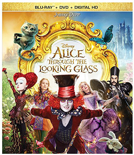 Alice Through the Looking Glass [Blu-ray/DVD]