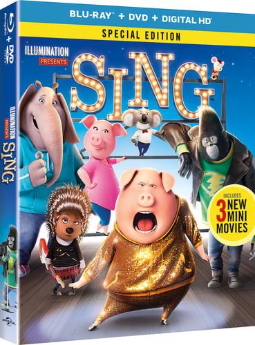 Sing [Blu-ray/DVD]