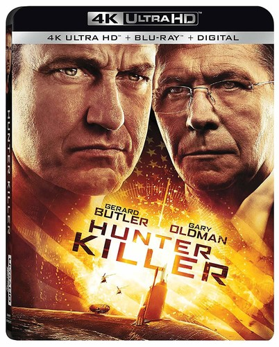 Hunter Killer [4K Ultra HD Blu-ray/Blu-ray]