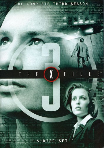 X-Files Third Season [6 Discs] [TV Show] [Sensormatic] [Repackaged] [Slim Pack]
