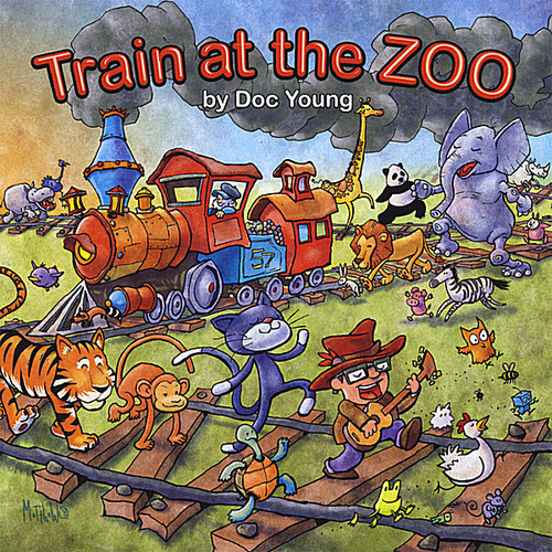 Train at the Zoo