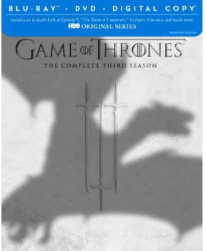Game of Thrones: The Complete Third Season [7 Discs] [Blu-ray/DVD]