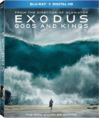 Exodus: Gods and Kings [Blu-ray]
