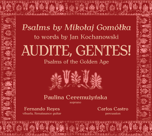 Audite Gentes - Psalms of the Golden Age