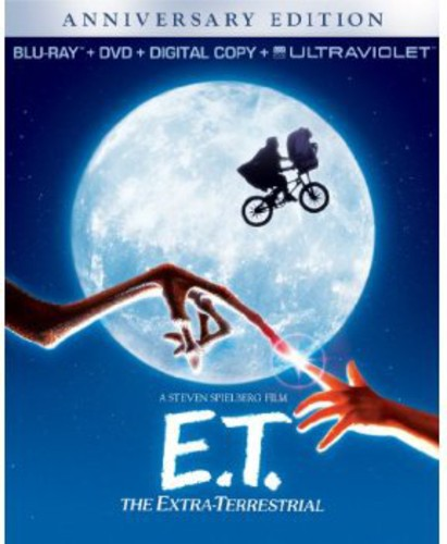 E.T. The Extra-Terrestrial [Anniversary Edition] [2 Discs] [Blu-ray/DVD]
