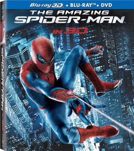 Amazing Spider-Man [4 Discs] [UltraViolet] [2D/3D] [Blu-ray/DVD]