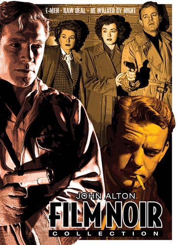 John Alton Film Noir Collection (T-Men /  Raw Deal /  He Walked by Night