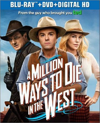 Million Ways to Die in the West [2 Discs] [Ultraviolet] [Blu-ray/DVD]