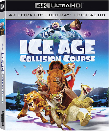 Ice Age: Collision Course [4K Ultra HD Blu-ray/Blu-ray] [UltraViolet]