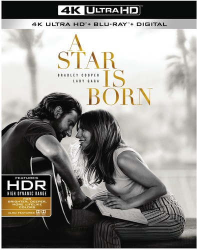 Star Is Born [4K Ultra HD Blu-ray/Blu-ray]