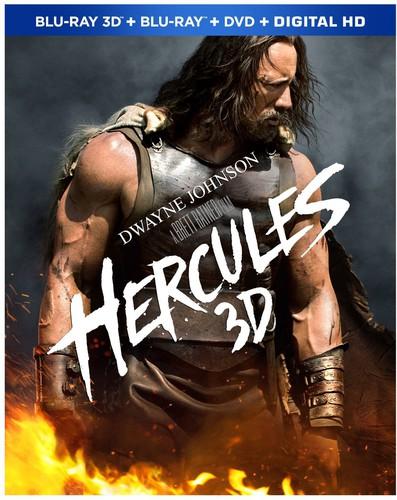 Hercules 3D [Unrated] [3 Discs] [Ultraviolet] [3D/2D] [Blu-ray/DVD]