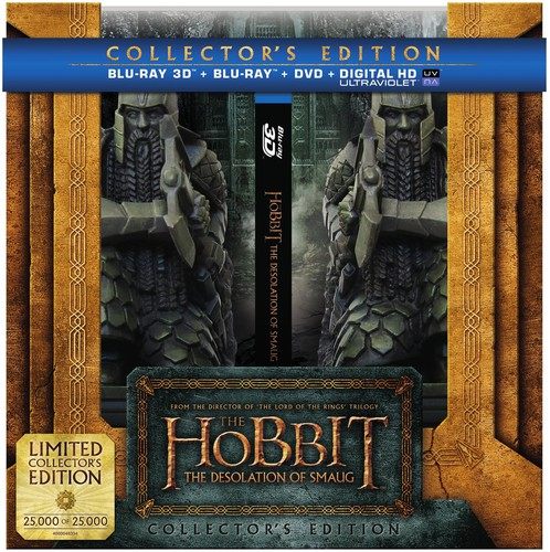 Hobbit: The Desolation of Smaug [UltraViolet] [3D] [Blu-ray]