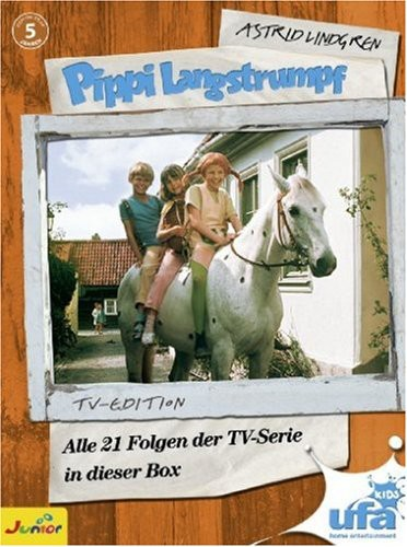 Pippi Langstrumpf Tv-Serien Box [Import]