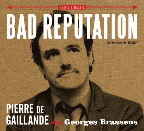 Pierre de Gaillande Sings Georges Brassens
