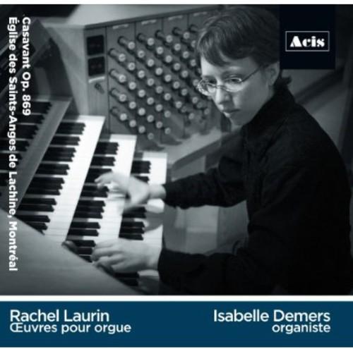 Rachel Laurin Oeuvres Pour Orgue
