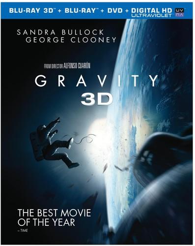 Gravity [3 Discs] [UltraViolet] [3D/2D] [Blu-ray/DVD]