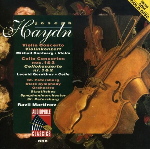 Haydn: VLN Cto /  Clo Ctos Nos 1 & 2