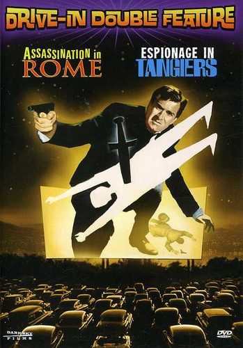 Drive-In Movie Double Feature: Assassination in Rome / Espionage in Tangiers